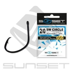 SUNSET SUNHOOKS SW CIRCLE BN